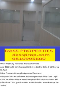 Space for office in PaharGanj