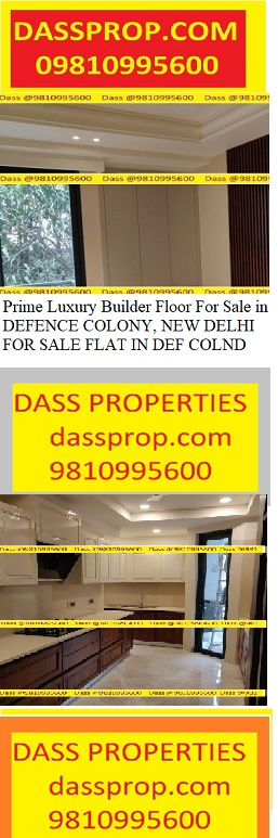 Builders Floor for sale in Defence colony , New Delhi